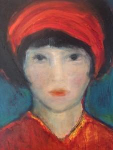 Das Mädchen mit dem roten Tuch